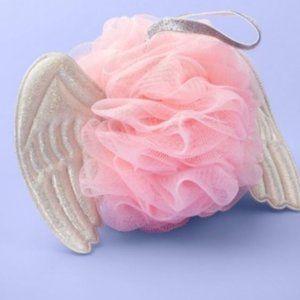 3 pack Angel Wings Mesh Bath Sponge NWT